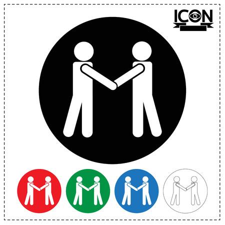 people: People Handshake Icon