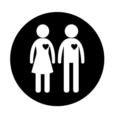 Icône de genre Vecteurs