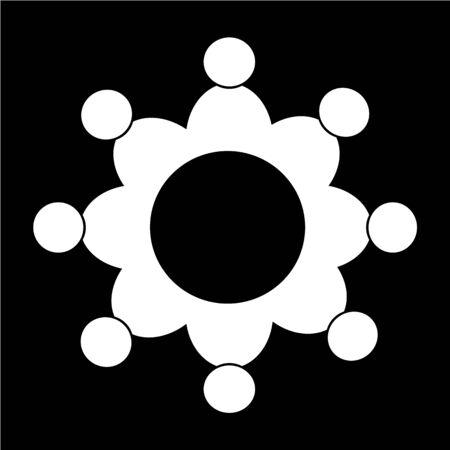 Conference icon Illustration