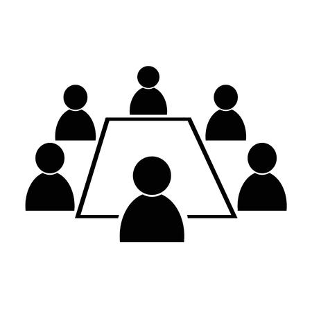 Conference icon Stock Illustratie