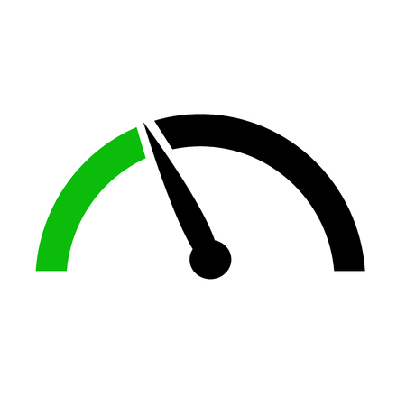 Speedometer icon Illustration