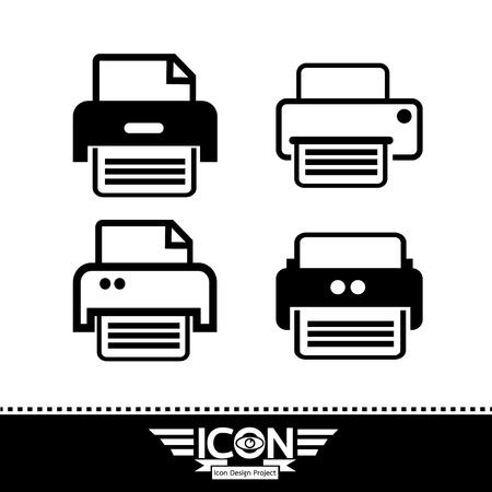 inkjet: Print icon