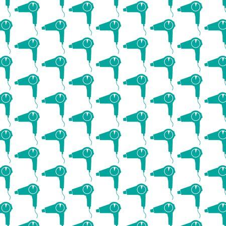 hairdryer: Pattern background hairdryer icon