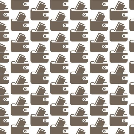 pouch: Pattern background pouch icon