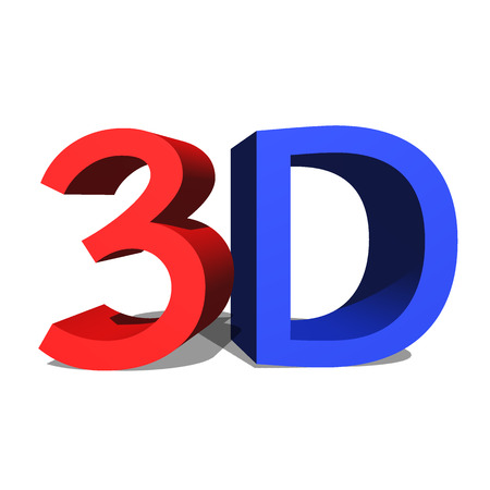 3d text Stock Photo