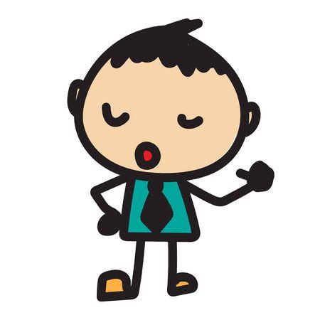 cute kid icon Vector illustration.