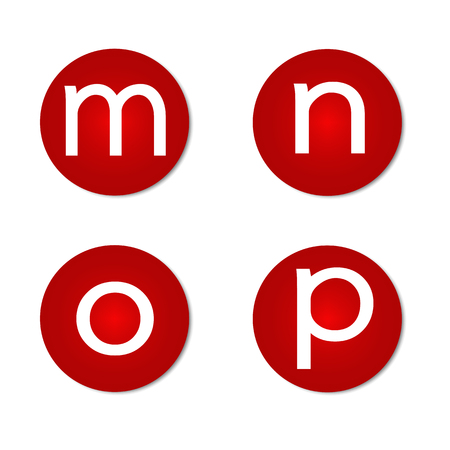 Font letter icons.
