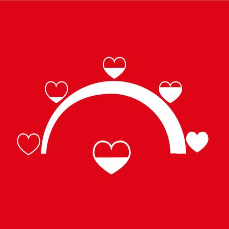Valentines day card idea Love meter