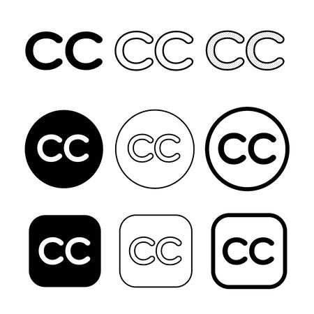 Creative commons icon symbol sign