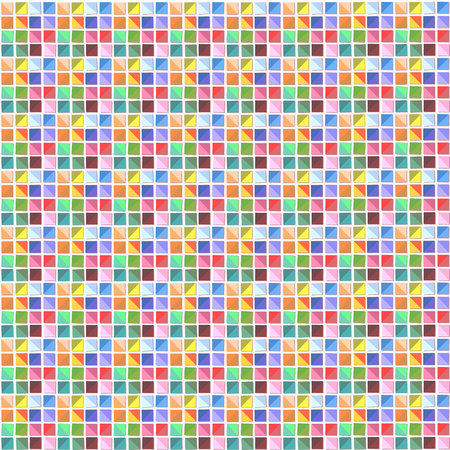 pixelate: Colorful abstract pattern, mosaic, tile, small.