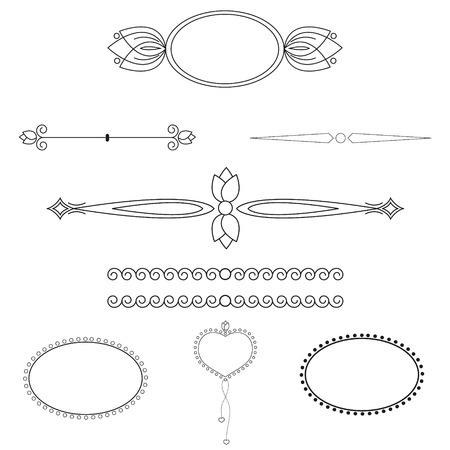 set of patterns for registration Vector