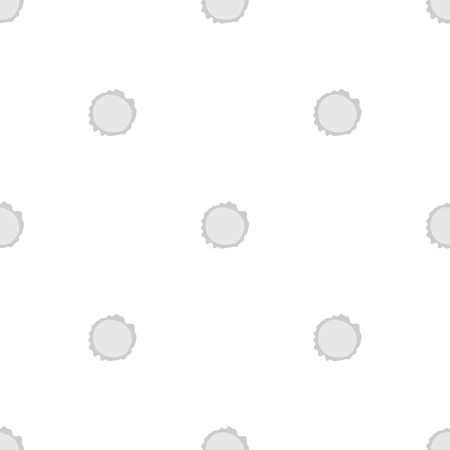 Seamless vector pattern.  round gray. eps 10 Vector