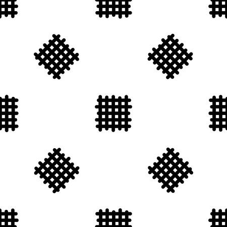 random: Simple random seamless pattern, eps 10, vector Illustration