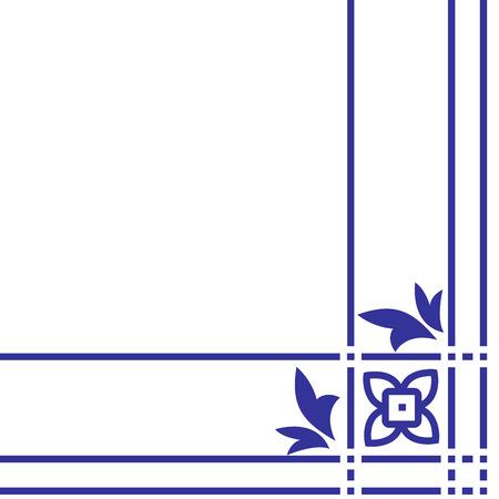 solemn: Arabic floral pattern. Element for design corner. eps 10 Illustration