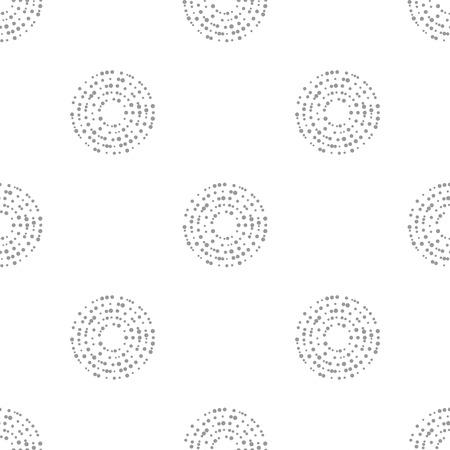 interlocking: Vector interlocking circles repeat tile pattern.