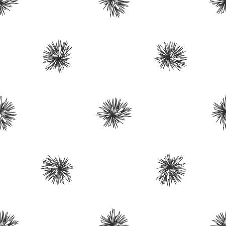 prickles: Sfondo trasparente con spinato. Vector,