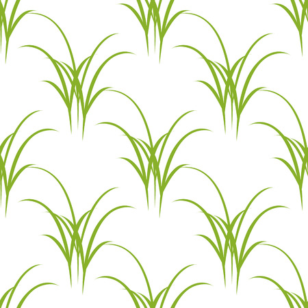 Seamless texture of grass. Vector, Vector