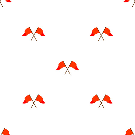 horizontally seamless united kingdom party bunting Vector
