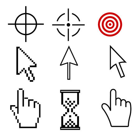 web site: vector icons for web site.