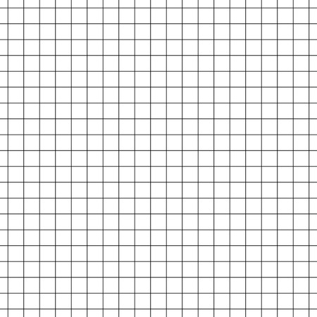 Vector seamless pattern paper exercise book in a cell.Texture notebook sheet.