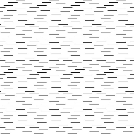 disappear: Abstract Black and White Illusion Vector Seamless Pattern. Line appears to tilt. EPS 10