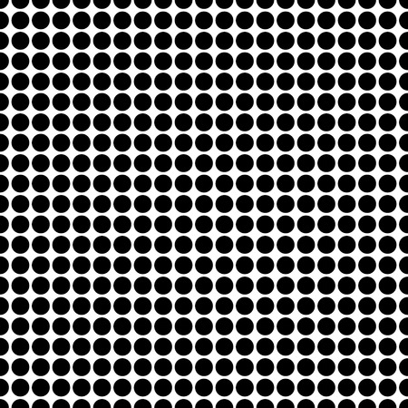 black dots: seamless background with black dots. eps 10