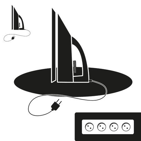 plancha de vapor: Icono Plancha de vapor