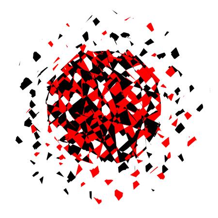 Vecteur couleur explosion. Vector illustration. Vecteurs