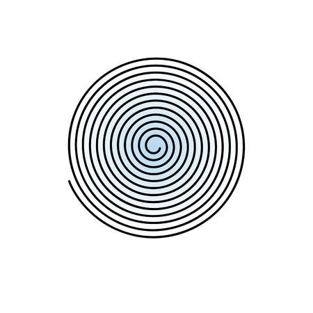 volute: Volute, spiral, concentric lines, circular, rotating background