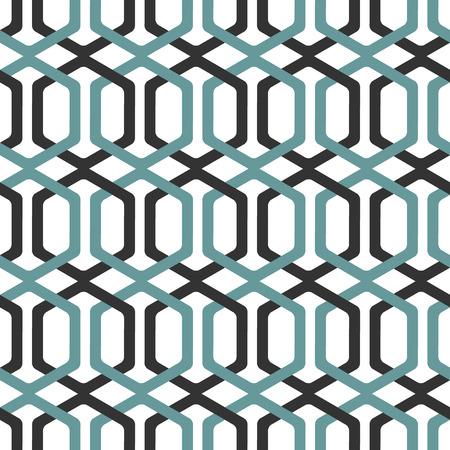 fret: Seamless Interlocking Geometric Fret Background Pattern.