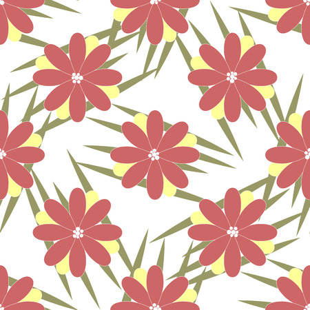 scratches: Vector natural background, wild floral pattern with scratches or grass.