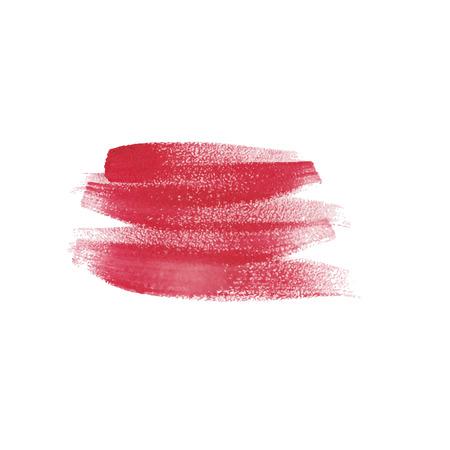 daubs: Watercolor strokes and texture. Vector design.