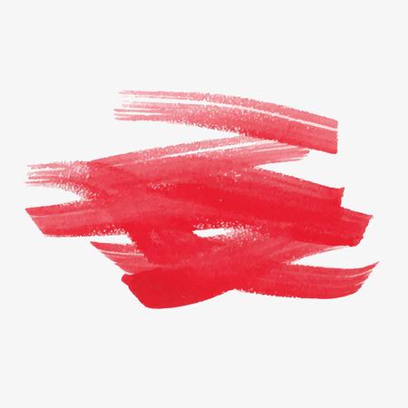 vague: Watercolor strokes and texture. Vector design.
