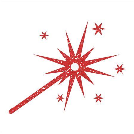 sparkler: Sparkler an icon, covered in white grit.