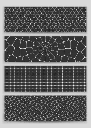 honeycomb: A set of four patterns-honeycomb.