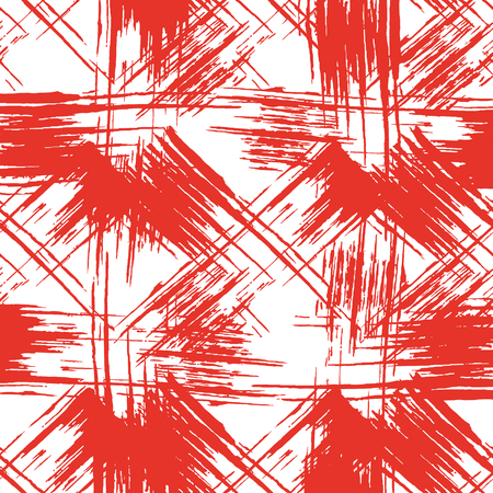 daub: Seamless background is a sloppy smear of red paint.