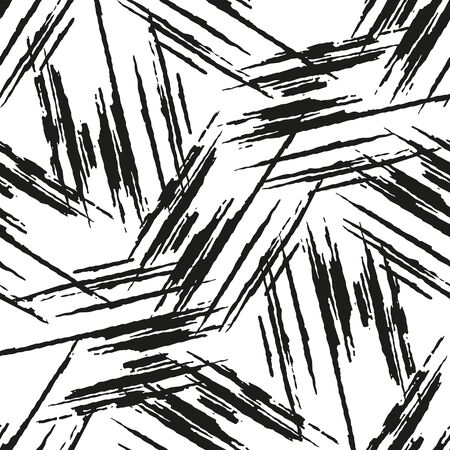 carelessness: Seamless vector background of smears of paint. Illustration