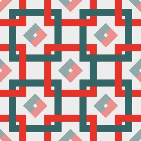 interweaving: seamless abstract pattern.