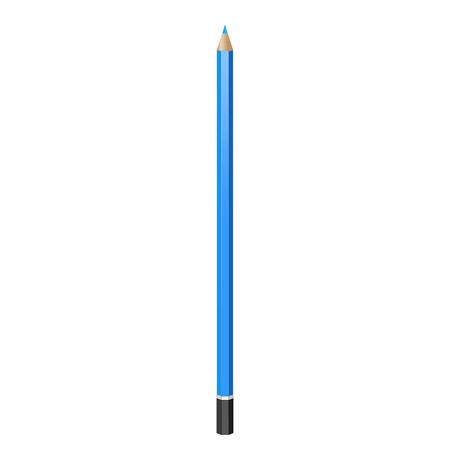 grafit: graphite pencil. Realistic vector image. pencil, pen, crayon