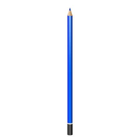 grafito: l�piz de grafito. vector de imagen realista. l�piz, l�piz, cray�n