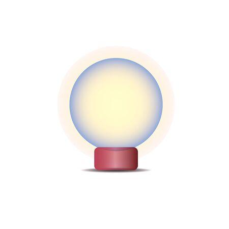 magic ball: Magic ball. Vector illustration.