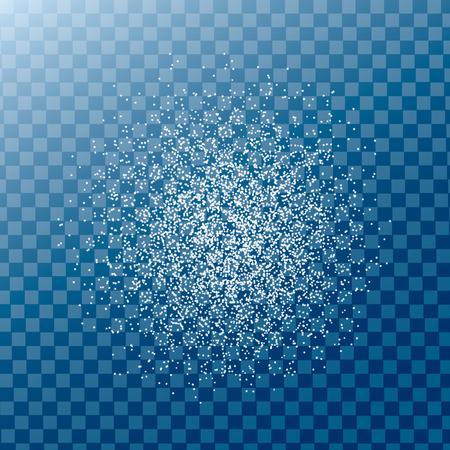 DisCrumbs de grains, particules Texture. Les particules de poussière. Grunge fond avec effet de sable.