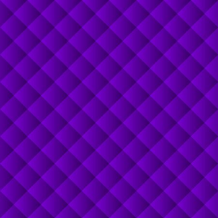 Abstract gradient ultramarine background. Background of white squares and rhombuses.
