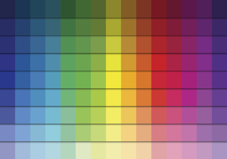 Color Palette.Bright Vector Background with Colors Collection.Bright Color Squares Set .Vector illustration