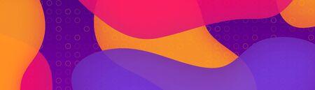 Colorful geometric background.Large format vector background modern design. Fluid shapes composition. Eps10 vector.