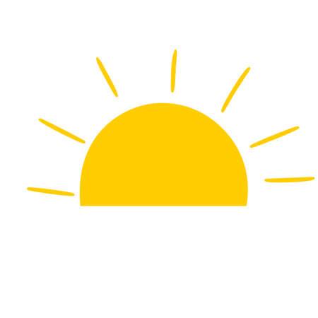 Sun burst star icon .