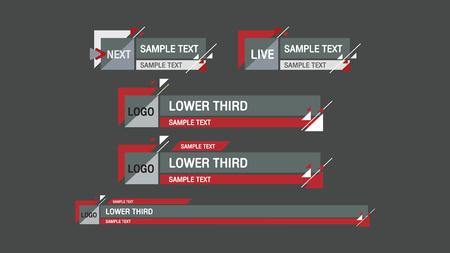 third: lower third