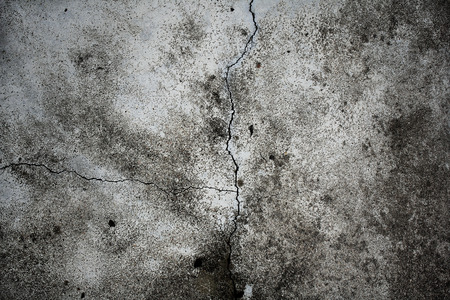 streak lightning: Concrete crack  Stock Photo
