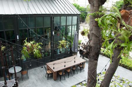 KA: Bangkok, Thailand- June 5,2017 : Keaw Kai Ka Coffee Shop and Cafe Restaurant. Interior Relaxation Concept