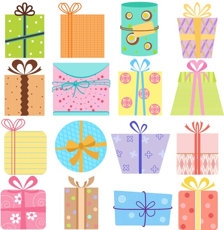 A set of simple and cute Stock Vector - 14574408